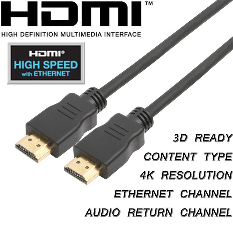 Cablebuilders High Speed Hdmi With Ethernet Cables 30ft